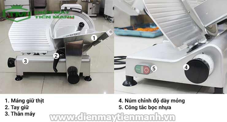 máy cắt lát thịt bò đông lạnh ES-300