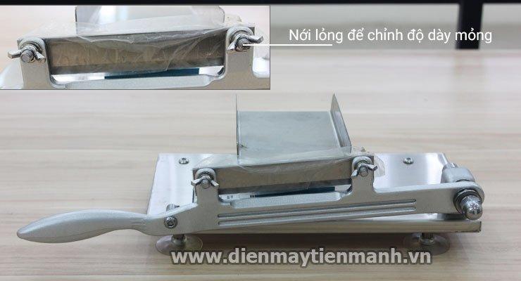 đặc điểm cấu tạo máy cắt thịt cầm tay st-200
