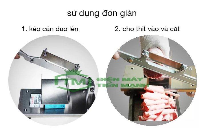 Lưu ý khi sử dụng máy cắt thịt cầm tay ST-200