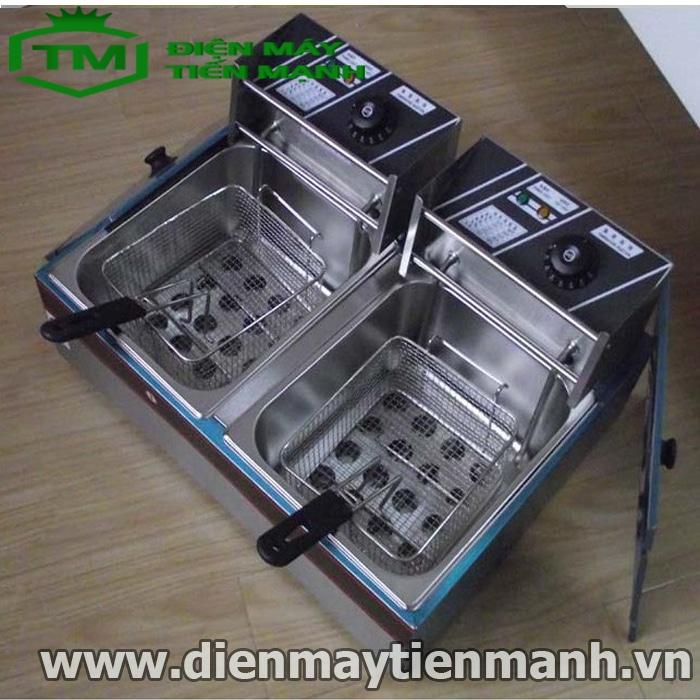 bếp chiên nhúng điện đôi ZL-82