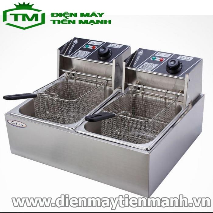 bếp chiên nhúng đôi dùng điện ZL-82