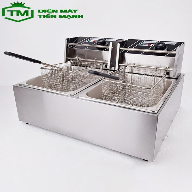 Bếp chiên nhúng điện 2 ngăn