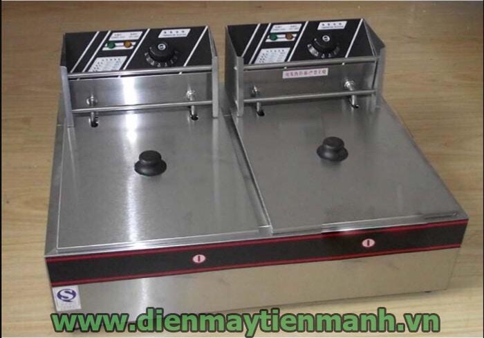bếp chiên điện đôi df-82