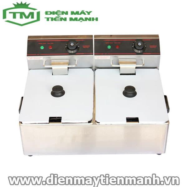 Bếp chiên nhúng điện đôi ET-ZL-2