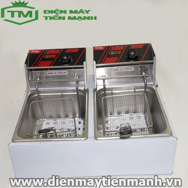 bếp chiên nhúng đôi dùng điện hx82