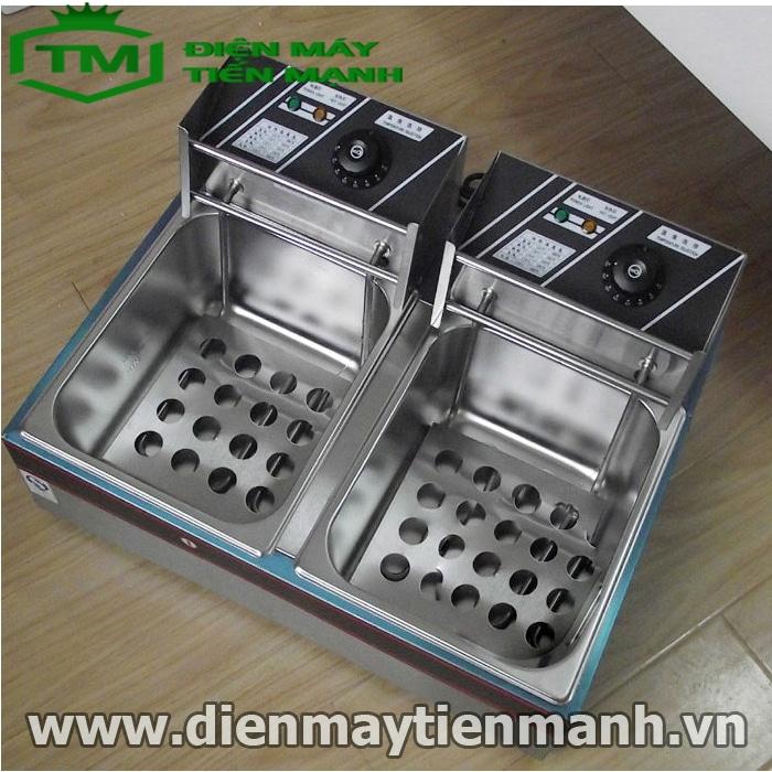 bếp chiên nhúng đôi ZL-82