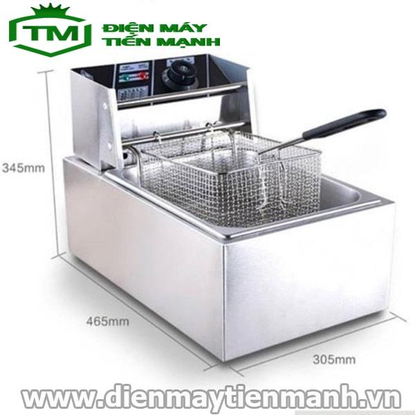bếp chiên nhúng đơn ZL-81