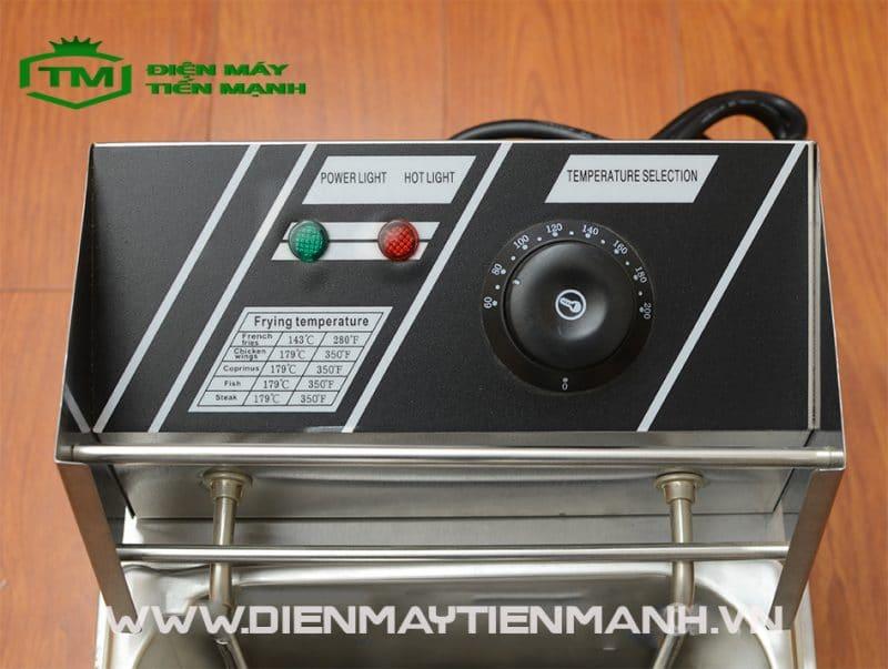ưu điểm bếp chiên nhúng đơn dùng điện zl-81