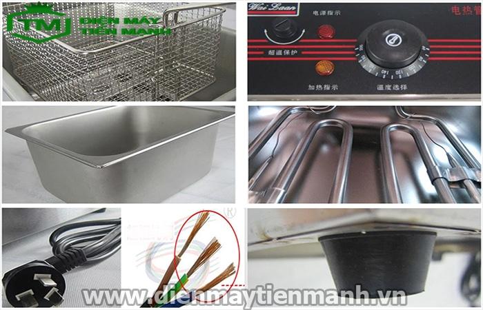Thiết kế máy chiên khoai tây điện EF-81