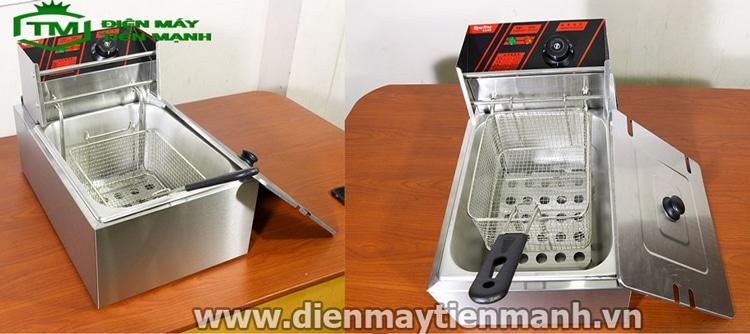 Hình ảnh thực tế bếp chiên nhúng dùng điện HX-81