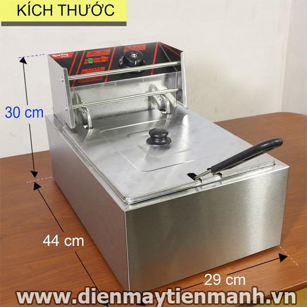 kích thước bếp chiên nhúng dùng điện hx81