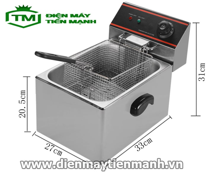 bếp chiên nhúng điện đơn hàng Việt Nam