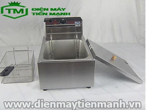 máy chiên khoai tây lốc xoáy EF-81
