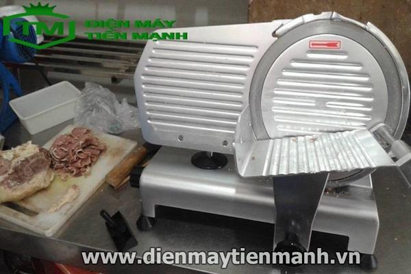 Máy thái thịt ES-250 có thể cắt được những loại thực phẩm nào