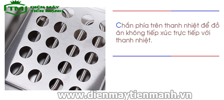 Thanh nhiệt bếp chiên nhúng dùng điện HX-81