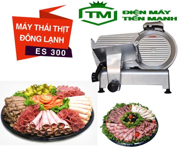 Máy cắt thịt bò đông lạnh ES 300