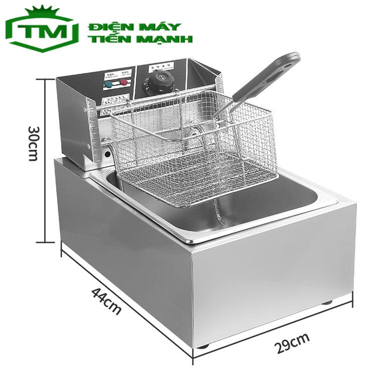 Bếp chiên nhúng dùng điện 220v được không