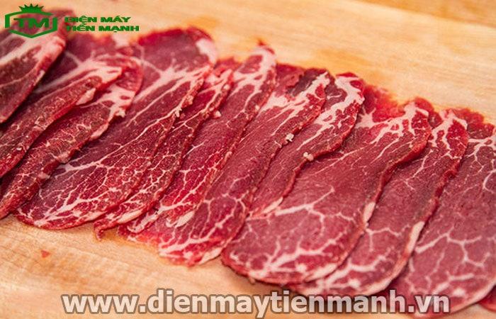 Cách thái thịt bò mỏng và dài