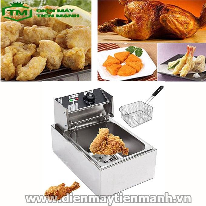 Tác dụng của máy chiên gà trong nấu ăn
