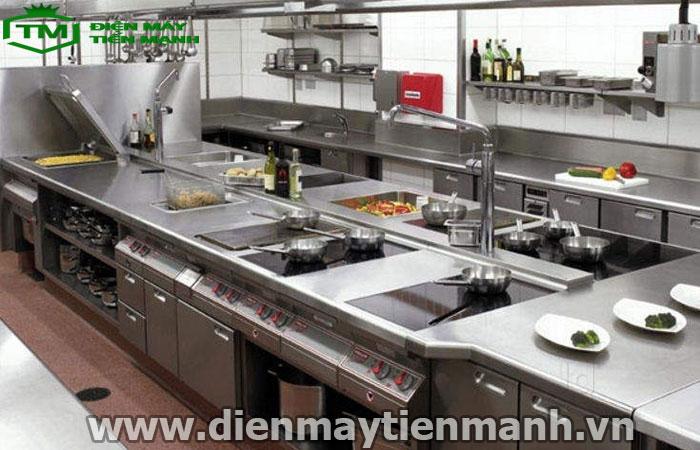 dây chuyền chế biến thực phẩm nhà hàng